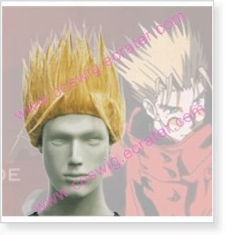 Trigun Vash The Stampede Halloween Cosplay Wig