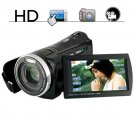 HD Camcorder with Touchscreen and 5x Optical Zoom 1080