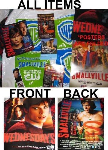 RARE Comic Con SMALLVILLE promos bag Season 1 posters