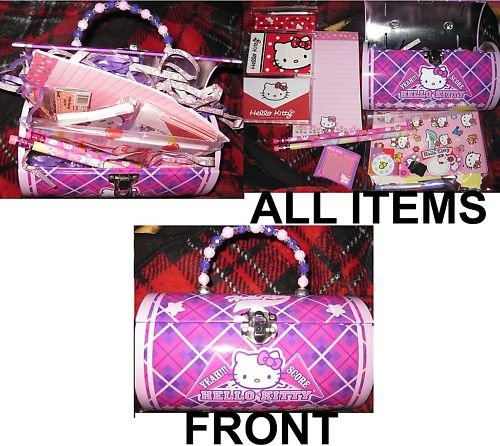 BRAND NEW Hello Kitty Purse Tin filled with goodies!