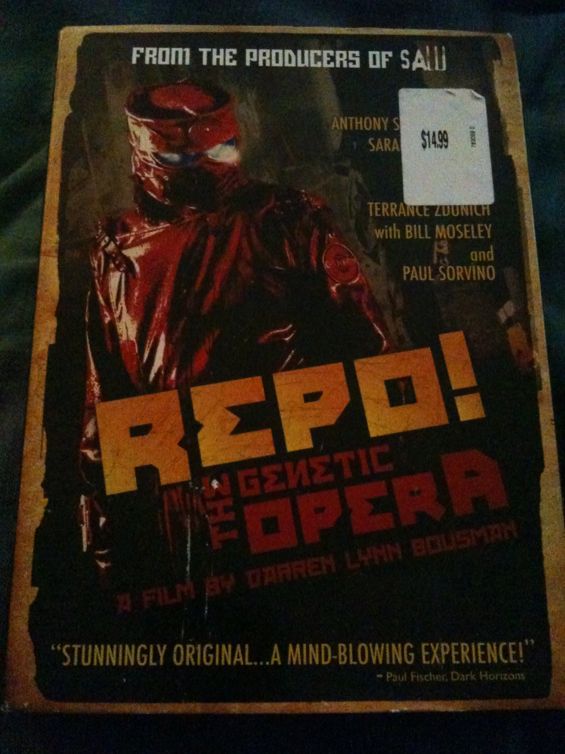 BRAND NEW REPO the Genetic Opera Sealed DVD