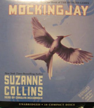 SEALED Mockingjay book on CD set! Final book in Hunger Games series by Suzanne Collins