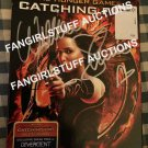 Hunger Games Catching Fire DVD signed Willow Shields Prim Everdeen autographed