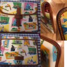 RARE Disney Dooney Bourke HTF Disneyland Lands RETRO DLR iPad Tablet Case Bag