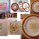 President Snow Salad Plate onscreen prop from Mockingjay Pt. 2 - Lionsgate Hunger Games Auction