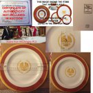 President Snow Dinner Plate onscreen prop from Mockingjay Pt. 2 - Lionsgate Hunger Games Auction