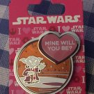 SOLD OUT LE Disneyland Valentine's Day STAR WARS Yoda Mine Will You Be? Pin