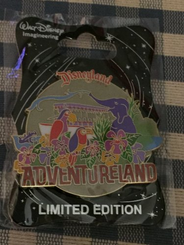 Disney D23 Expo 2015 WDI Walt Disney Imagineering Disneyland ADVENTURELAND Pin LE300