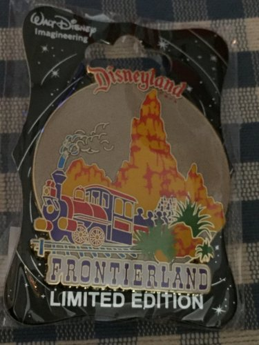 Disney D23 Expo 2015 WDI Walt Disney Imagineering Disneyland FRONTIERLAND Pin LE300