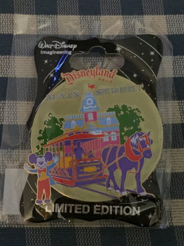 Disney D23 Expo 2015 WDI Walt Disney Imagineering Disneyland MAIN STREET USA Mickey Mouse Pin LE300