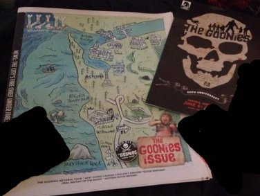 THE GOONIES 30th ANNIVERSARY DARK HORSE COMICS SPECIAL EVENT ED 2015 ASTORIA OR