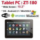 """10.2"""" ZT-180 ePad Android 2.1 Tablet PC Freeshipping Bomwin"""