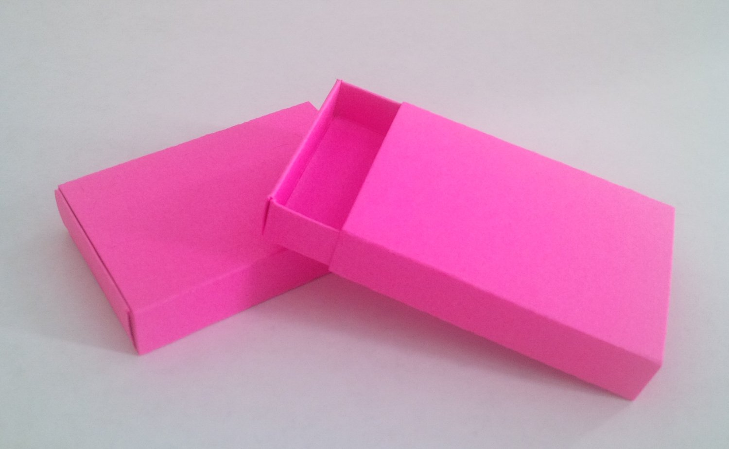 10 small blank pink fuschia matchboxes great color for for Blank matchboxes for crafts