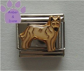 German Shepherd Dog Italian Charm Guard Dog