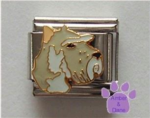 Schnauzer Dog Italian Charm