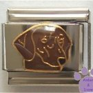 Very Cute Dachshund Dog Italian Charm