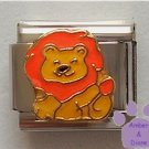 Lovable Leo the Lion Italian Charm for August Birthday