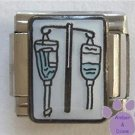 Intravenous IV Italian Charm for Medical or Veterinary