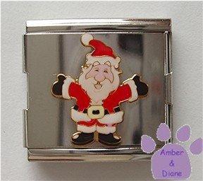Santa Claus Italian Charm Megalink