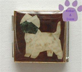 Cairn Terrier or Border Terrier Custom Photo Italian Charm Mega
