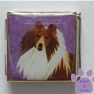 Collie Dog or Sheltie Custom Photo Italian Charm Megalink