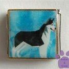 Husky Dog Custom Photo Italian Charm Megalink