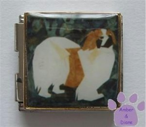 Pekingese Dog Custom Photo Italian Charm Megalink