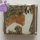 Saint Bernard Dog Custom Photo Italian Charm Megalink
