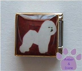 Bichon Frise 9mm Custom Photo Italian Charm