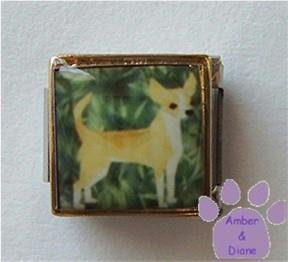 Chihuahua Dog 9mm Custom Photo Italian Charm