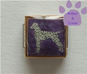 Dalmatian Dog 9mm Custom Photo Italian Charm