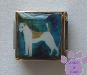 Jack Russell Terrier 9mm Custom Photo Italian Charm