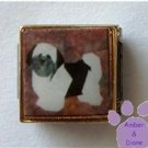 Lhasa Apso 9mm Custom Photo Italian Charm