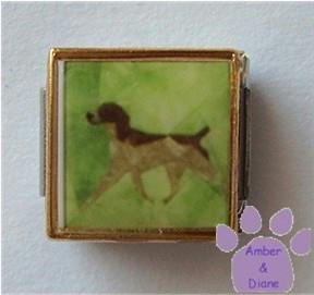 Pointer Dog 9mm Custom Photo Italian Charm