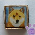 Shiba Inu Dog 9mm Custom Photo Italian Charm