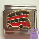 Double Decker Bus Italian Charm * Golden Anniversary
