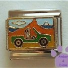 Off Road Jeep Italian Charm Cruising the Mountain Terrain