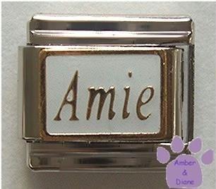 Amie Italian Charm Feminine Friend in the language of love