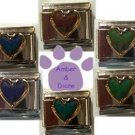 Mood Heart Italian Charm Changes color with your moods