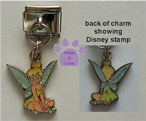 Disney Tinkerbell Dangle Italian Charm from Peter Pan