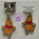 Disney Winnie Dangle Italian Charm from Winnie the Pooh