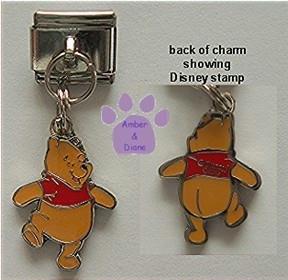 Disney Winnie Dangle Italian Charm from Winnie the Pooh
