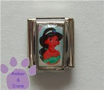 Jasmine Custom Photo Italian Charm Aladdin Disney Princess