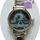 Zodiac Silvertone Italian Charm Watch LIBRA Sept 23 to Oct 22