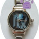 Zodiac Silvertone Italian Charm Watch VIRGO August 23 to Sept 22