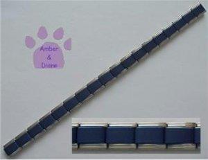 Italian Charm Starter Bracelet in DARK BLUE