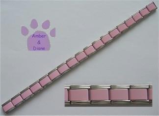 Italian Charm Starter Bracelet in PINK