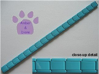 Italian Charm Starter Bracelet in Turquoise Color