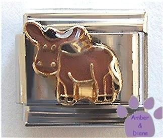 Adorable Donkey Italian Charm - Jack Ass, Mule, or Burro