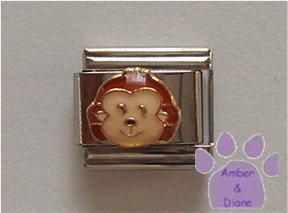 Cute Baby Monkey Face Italian Charm